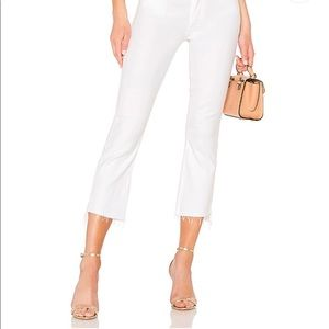 MOTHER Jeans NWT Insider Crop Step Fray Sz 26